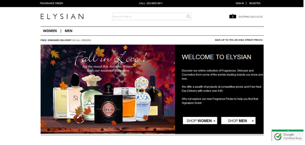 Elysian Fragrances & Products