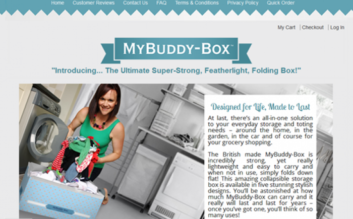 My Buddy Box Home Product