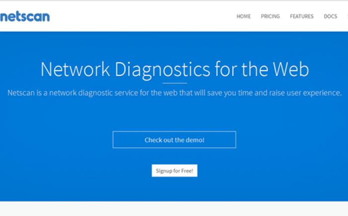 Netscan Diagnostic Tool