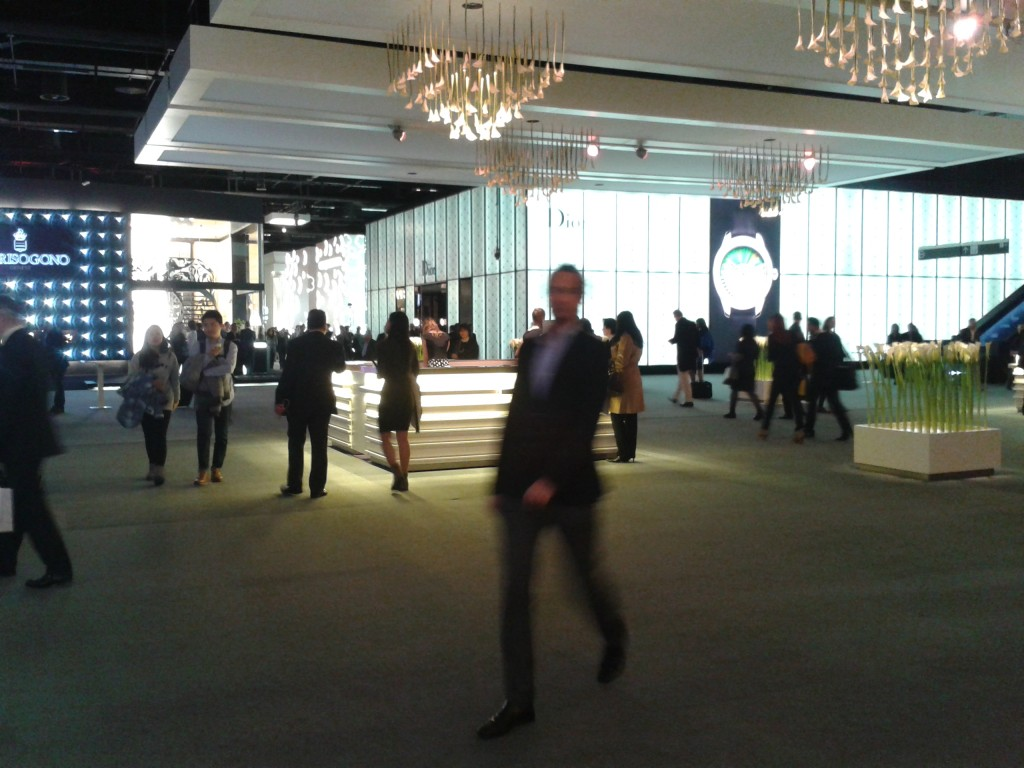 The Foyer at Baselworld 2016