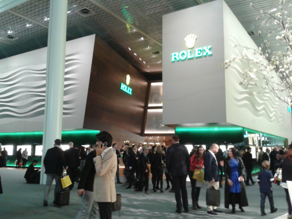 Rolex Booth at Baselworld 2016