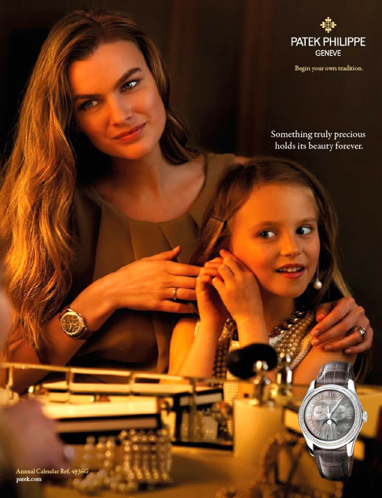 Patek Philppe advert