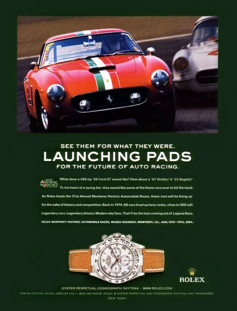 Rolex Daytona advert