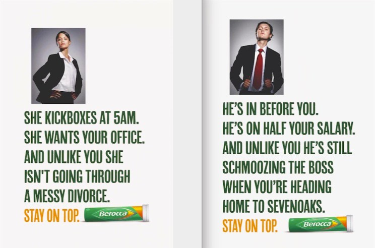 Berocca adverts