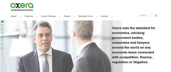 Oxera Economics Consultancy