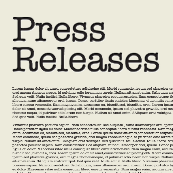 5 Tips From a Successful Press Release Writer