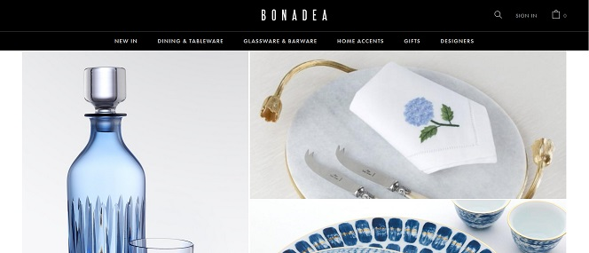 Bonadea Luxury Homeware and Tableware
