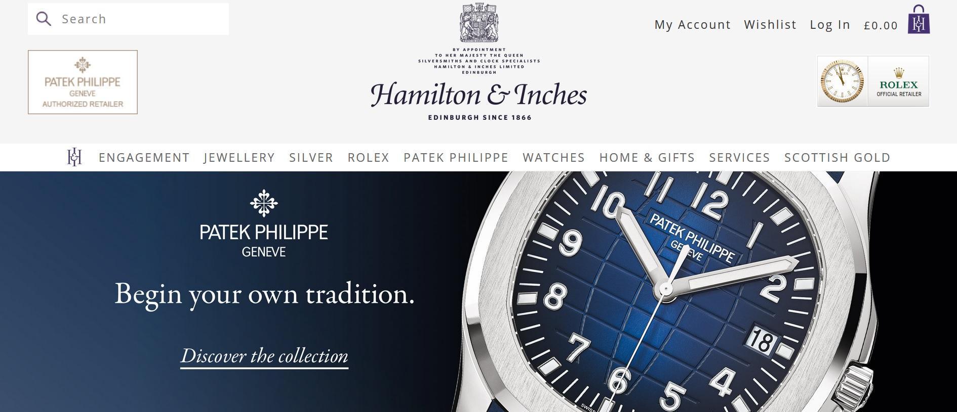 Hamilton & Inches